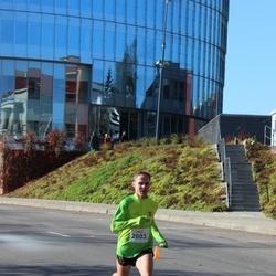 """Vilnius 10 km run, """"Run with Živilė Balčiūnaitė"""". - Mindaugas Viršilas (2603)"""