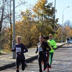 """Vilnius 10 km run, """"Run with Živilė Balčiūnaitė"""". - Diana Lobačevskė (2550), Remalda Kergytė (2556)"""