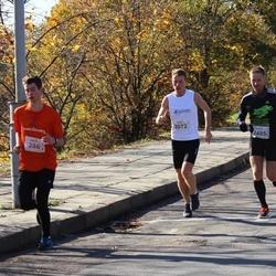"""Vilnius 10 km run, """"Run with Živilė Balčiūnaitė"""". - Jonathan Silberstein (286), Dominykas Pacauskas (2072), Arūnas Vaišvila (2495)"""