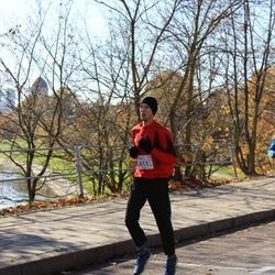 """Vilnius 10 km run, """"Run with Živilė Balčiūnaitė"""". - Algirdas Bartkevičius (2411)"""