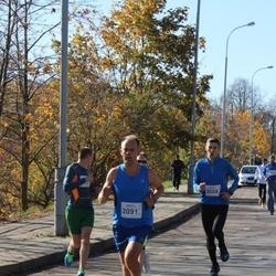 """Vilnius 10 km run, """"Run with Živilė Balčiūnaitė"""". - Marko Seppae (2091), Saulius Prašmantas (2558)"""