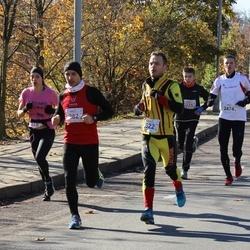"""Vilnius 10 km run, """"Run with Živilė Balčiūnaitė"""". - Darius Valatkevičius (282), Deimantas Mitka (2474), Simonas Narvydas (2622)"""