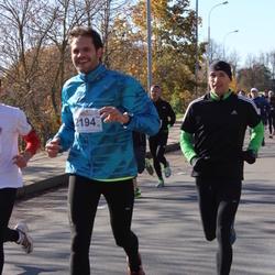 """Vilnius 10 km run, """"Run with Živilė Balčiūnaitė"""". - Mantas Bondauskis (2194)"""
