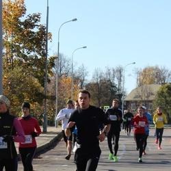 """Vilnius 10 km run, """"Run with Živilė Balčiūnaitė""""."""