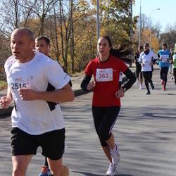 """Vilnius 10 km run, """"Run with Živilė Balčiūnaitė"""". - Vitalija Papinigytė (363)"""
