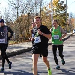 """Vilnius 10 km run, """"Run with Živilė Balčiūnaitė"""". - Giedrius Povilavičius (2039), Meinardas Valkevičius (2535)"""