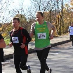 """Vilnius 10 km run, """"Run with Živilė Balčiūnaitė"""". - Giedrius Povilavičius (2039), Donatas Plaščinskas (2549)"""