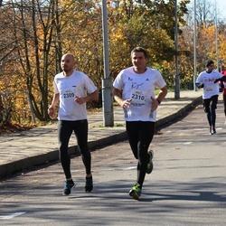 """Vilnius 10 km run, """"Run with Živilė Balčiūnaitė"""". - Tomas Petraitis (2309), Sigitas Pašakinskas (2310)"""