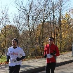 """Vilnius 10 km run, """"Run with Živilė Balčiūnaitė"""". - Mazvydas Bartasius (2242), Genadijus Petrikas (2299)"""