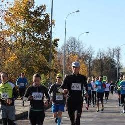 """Vilnius 10 km run, """"Run with Živilė Balčiūnaitė"""". - Aurimas Kuckailis (2164), Laura Šlepikaitė (2498)"""