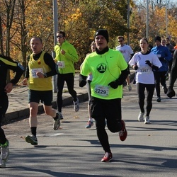 """Vilnius 10 km run, """"Run with Živilė Balčiūnaitė"""". - Andrius Dalinkevičius (2167), Almantas Leika (2223), Darius Daugvila (2229)"""