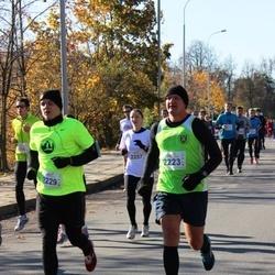 """Vilnius 10 km run, """"Run with Živilė Balčiūnaitė"""". - Almantas Leika (2223), Darius Daugvila (2229)"""
