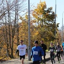 """Vilnius 10 km run, """"Run with Živilė Balčiūnaitė"""". - Liudvikas Paukštė (2494), Ernestas Gaižauskas (2582)"""