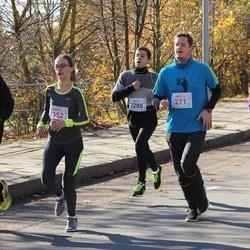 """Vilnius 10 km run, """"Run with Živilė Balčiūnaitė"""". - Justinas Kameneckas (271), Viktorija Varnagirytė (352), Edvinas Remeika (2298)"""