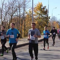 """Vilnius 10 km run, """"Run with Živilė Balčiūnaitė"""". - Justinas Kameneckas (271), Merūnas Janulevičius (2504)"""