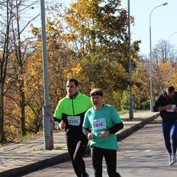 """Vilnius 10 km run, """"Run with Živilė Balčiūnaitė"""". - Darius Remeika (2320), Arūnas Budrikis (2416)"""