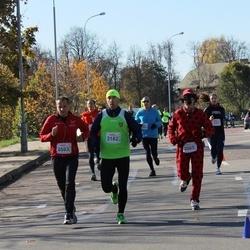 """Vilnius 10 km run, """"Run with Živilė Balčiūnaitė"""". - Ričardas Kvedaravičius (2005), Vaidas Kazlauskas (2182), Gediminas Latvys (2593)"""