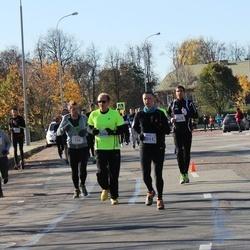 """Vilnius 10 km run, """"Run with Živilė Balčiūnaitė"""". - Aurimas Kraujalis (156), Giedrius Martinaitis (2011)"""