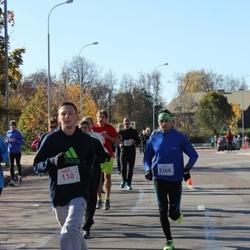"""Vilnius 10 km run, """"Run with Živilė Balčiūnaitė"""". - Daniel Golovacki (110), Aurimas Kalinka (2369)"""