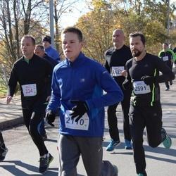 """Vilnius 10 km run, """"Run with Živilė Balčiūnaitė"""". - Mantas Razma (2110), Justinas Dijokas (2591)"""