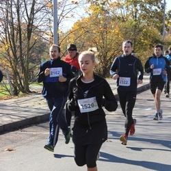 """Vilnius 10 km run, """"Run with Živilė Balčiūnaitė"""". - Evaldas Povilaitis (2162), Ligita Vaičaitytė (2526)"""