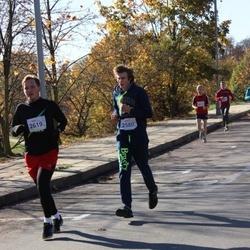 """Vilnius 10 km run, """"Run with Živilė Balčiūnaitė"""". - Vytautas Grybas (2580), Žilvinas Janukėnas (2619)"""
