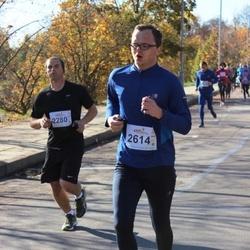 """Vilnius 10 km run, """"Run with Živilė Balčiūnaitė"""". - Martynas Žemeckis (2280), Justas Veršnickas (2614)"""