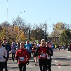 """Vilnius 10 km run, """"Run with Živilė Balčiūnaitė"""". - Agnė Šukytė (2432), Ieva Šukytė (2465)"""