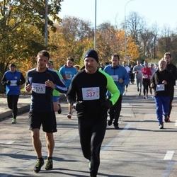 """Vilnius 10 km run, """"Run with Živilė Balčiūnaitė"""". - Aurelijus Gutauskas (337), Adomas Žadeika (2575)"""