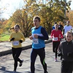 """Vilnius 10 km run, """"Run with Živilė Balčiūnaitė"""". - Nijolė Gagilaitė (2115), Mantas Preisegolavičius (2452)"""
