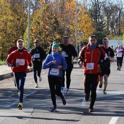 """Vilnius 10 km run, """"Run with Živilė Balčiūnaitė"""". - Justinas Strelčiūnas (148), Ignas Vaitkevičius (344)"""