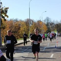 """Vilnius 10 km run, """"Run with Živilė Balčiūnaitė"""". - Andrej Galin (2145), Marius Mateliunas (2213)"""