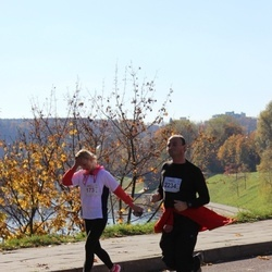 "Vilnius 10 km run, ""Run with Živilė Balčiūnaitė"". - Erika Narkūnaitė (173), Dmitrij Bogatko (2234)"