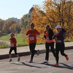 """Vilnius 10 km run, """"Run with Živilė Balčiūnaitė"""". - Morgan Anderson (301), Emmry Anderson (302)"""