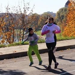 """Vilnius 10 km run, """"Run with Živilė Balčiūnaitė"""". - Rasa Vaičiūnienė (171), Herkus Šetkus (229)"""