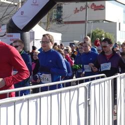 """Vilnius 10 km run, """"Run with Živilė Balčiūnaitė"""". - Daumantas Mikučionis (2287), Edmundas Misevičius (2585), Justas Veršnickas (2614)"""