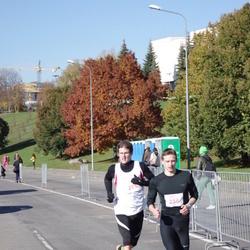 """Vilnius 10 km run, """"Run with Živilė Balčiūnaitė"""". - Arnoldas Žukovskis (256)"""