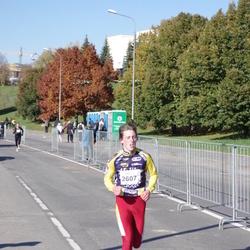 """Vilnius 10 km run, """"Run with Živilė Balčiūnaitė"""". - Jaunius Strazdas (2607)"""