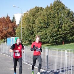"""Vilnius 10 km run, """"Run with Živilė Balčiūnaitė"""". - Vladimir Lomov (208), Marius Noreika (2540)"""