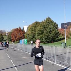 """Vilnius 10 km run, """"Run with Živilė Balčiūnaitė"""". - Artiom Neznanov (2623)"""