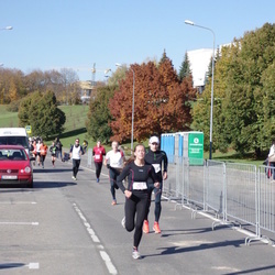 """Vilnius 10 km run, """"Run with Živilė Balčiūnaitė"""". - Evelina Uševaitė (375)"""