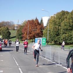"""Vilnius 10 km run, """"Run with Živilė Balčiūnaitė"""". - Rolandas Silius (2606)"""