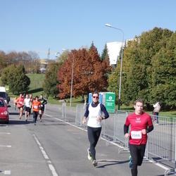"""Vilnius 10 km run, """"Run with Živilė Balčiūnaitė"""". - Aurimas Bagdonavičius (2009), Rapolas Striūkas (2628)"""
