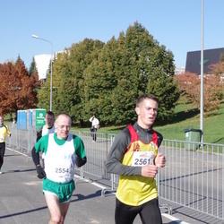 """Vilnius 10 km run, """"Run with Živilė Balčiūnaitė"""". - Denis Kerr (2554), Almantas Dapkevicius (2561)"""