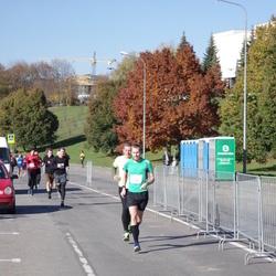 """Vilnius 10 km run, """"Run with Živilė Balčiūnaitė"""". - Aleksej Kiričenko (196)"""