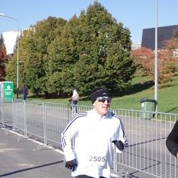 """Vilnius 10 km run, """"Run with Živilė Balčiūnaitė"""". - Romas Milkamanavičius (2505)"""