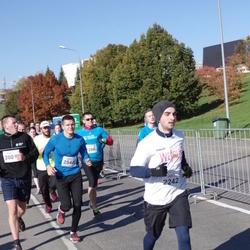 """Vilnius 10 km run, """"Run with Živilė Balčiūnaitė"""". - Mazvydas Bartasius (2242), Marius Postnovas (2548)"""