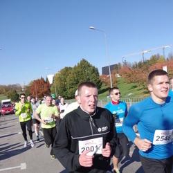 """Vilnius 10 km run, """"Run with Živilė Balčiūnaitė"""". - Rimantas Butkevičius (2001)"""