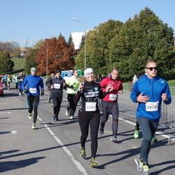 """Vilnius 10 km run, """"Run with Živilė Balčiūnaitė"""". - Karolina Karpavičiūtė (2241), Julius Budrevičius (2479)"""