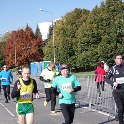 """Vilnius 10 km run, """"Run with Živilė Balčiūnaitė"""". - Arūnas Budrikis (2416), Arūnas Dubinskas (2500)"""